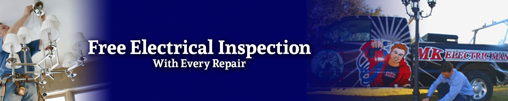 Free electrical inspection with every Baton Rouge repair